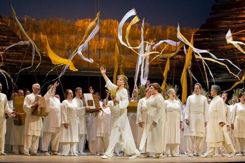 Act III Les Troyens - Susan Graham as Dido; Photo credit: Cory Weaver/Metropolitan Opera