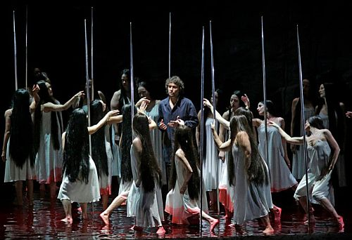 Parsifal Act II Jonas Kaufmann and the Flower Maidens c Metropolitan Opera
