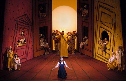 Die Zauberflote, Semperoper Dresden, Credit Matthias Creutziger
