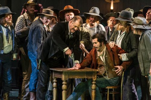 LA FANCIULLA DEL WEST by Puccini; Opera North; Photo credit: © CLIVE BARDA/ArenaPAL;