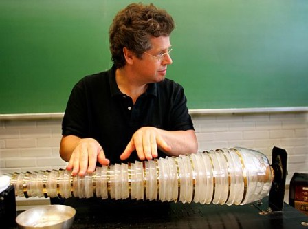 Thomas Bloch and his Glass Harmonica, (c) ThomasBloch.net