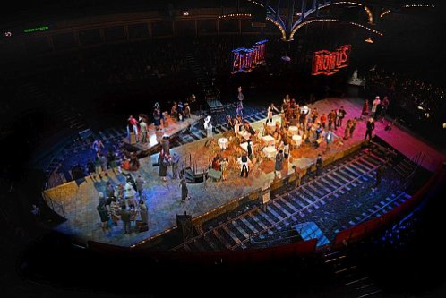La Boheme at the Royal Albert Hall. Photo by Paul Sanders