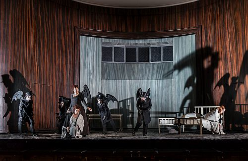 DIE FRAU OHNE SCHATTEN by Richard Strauss; Photo credit: © CLIVE BARDA/ArenaPAL;