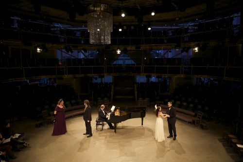 Day of Song (Lauren Fielder, Benjamin Lewis, Joanna Norman, Kang Wang with pianist Roderick Barrand) credit Paul Cliff