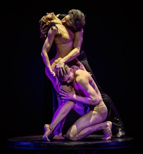 Eifman Ballet in 'RODIN' Lyubov Andreyeva as Camille, Oleg Gayshev as Rodin photo by Souheil Michael Khoury
