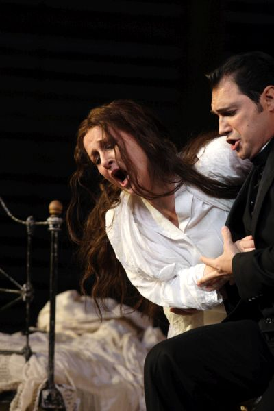La Traviata Diana Damrau As Violetta Valery And Francesco Demuro As Alfredo  (c) Catherine Ashmore-