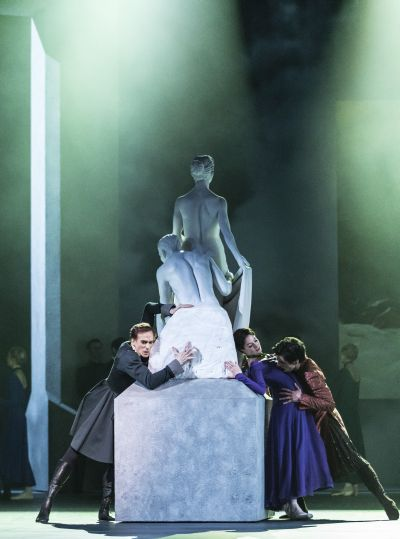 THE WINTER'S TALE by Wheeldon,           , choreography - Christopher Wheeldon, music - Joby Talbot, designs - Bob Crowley, The Royal Ballet, The Royal Opera House, 2014, Credit: Johan Persson/www.perssonphotography.com