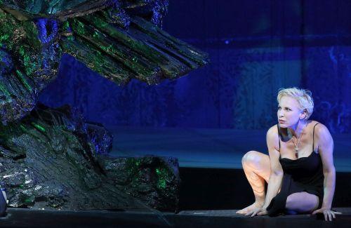 Salome (Nadja Michael) Bavarian State Opera, photograph Wilfried Hösl