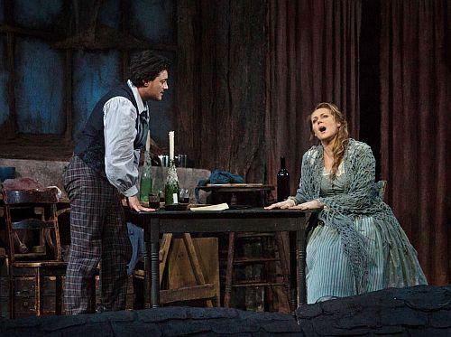 Vittorio Grigolo Kristine Opolais c Metropolitan Opera, Marty Sohl