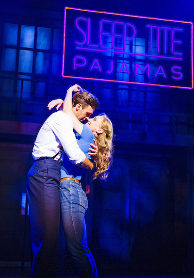 A scene from The Pajama Game @ Shaftesbury Theatre. ©Tristram Kenton