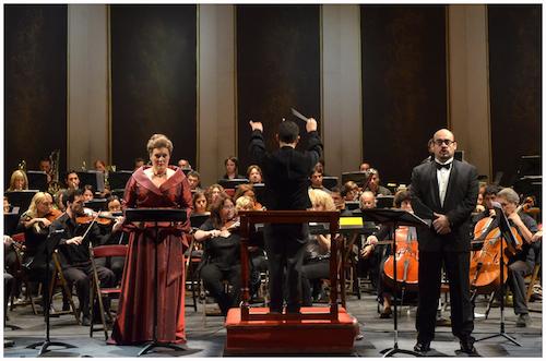 Carla Filipcic-Holm and Hernán Iturraldein Buenos AiresLírica's Wagnerfest!Photo Liliana Morsia
