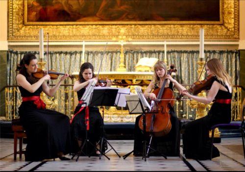 Jubilee String Quartet  Photo Courtesy of Jubilee String Quartet