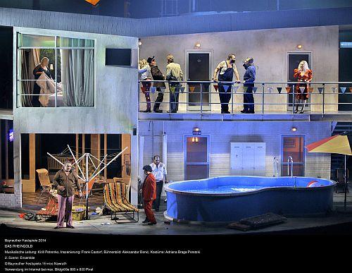 Das Rheingold Photo  credit Enrico Nawrath/ Bayreuth Festival