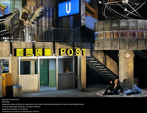 Siegfried.  Photo (c) Enrico Harwath/Bayreuth Opera