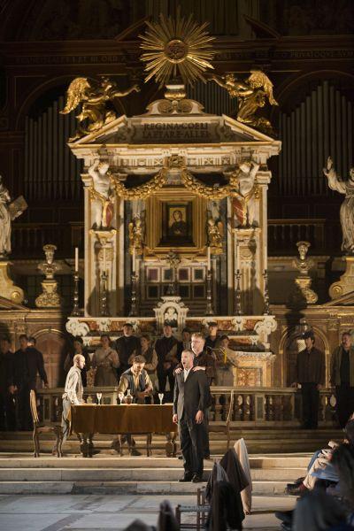 Teatro dell'Opera di Roma - The Prodigal Son, musica di Benjamin Britten - Basilica di Santa Maria in Ara CoeliParabola da Chiesa Photo Rome Opera (c) Luciano Romano