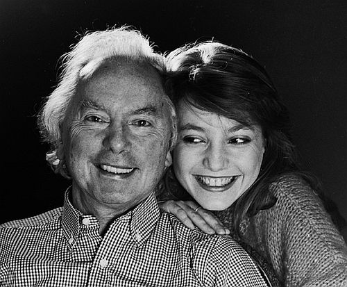 Andrzey Panufnik and his composer daughter Roxana