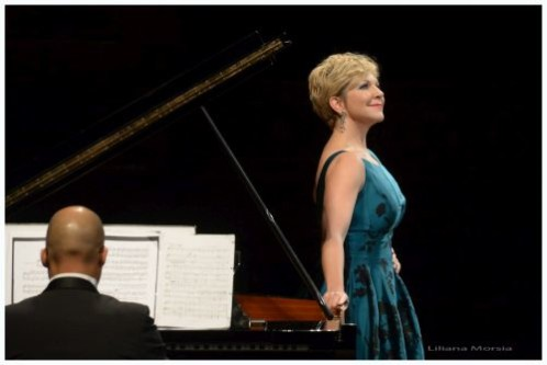 Joyce DiDonato in concert at Teatro Colón. (Photo Liliana Morsia)
