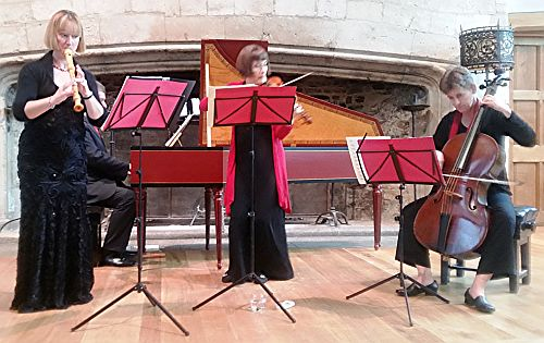 Devon Baroque Ensemble  (Photo credit Philip R Buttall)