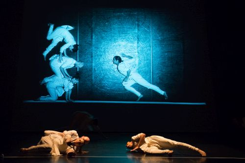 Phoenix Dance Theatre.  Works by Ivgi & Greben, Darshan Singh Bhuller and Didy Veldman. Photograohed at West London Playhouse. Picture shows: Mapping by Darshan Singh Bhuller.
