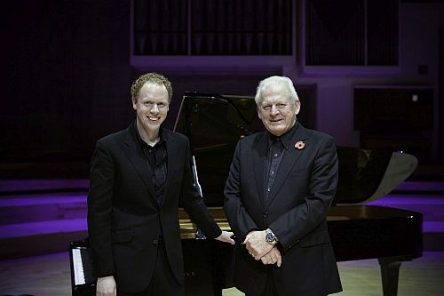 Sir Thomas Allen and Joseph Middleton Photo (c) Credit RNCM