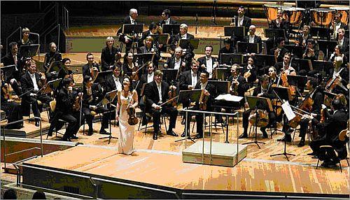 Performing the Elgar concerto in Berlin
