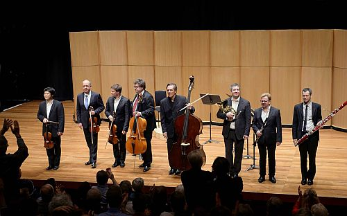 Exceptional Chamber Music from the Berlin Philharmonic Octet : Seen