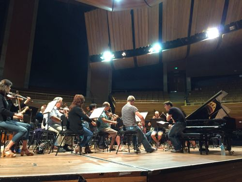 Freddy Kempf Rehearses Beethoven with the NZSO 2014
