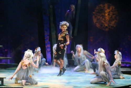 Matthew Thistleton as Puck and the Fairies Picture Credit Victoria Haydn