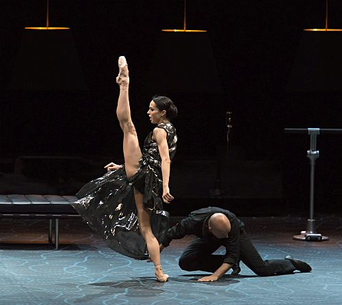 4.Diana Vishneva On The Edge. l-r Diana Vishneva and Gaetan Morlotti (c) Gene Schiavone