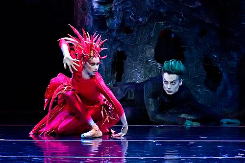 American Ballet Theatre, Firebird, Photo by Gene Schiavone