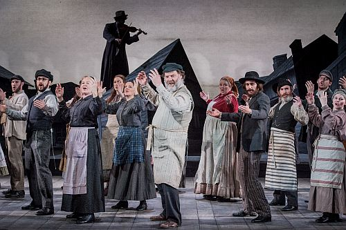 Fiddler on The Roof - Jerry Brock, Sheldon Harnick, Joseph Stein - Grange Park Opera - 4th June 2015Conductor - David Charles Abell Director/Designer - Antony McDonaldChoreographer - Lucy BurgeCostume Designer - Gabrielle Dalton Lighting Designer - Lu