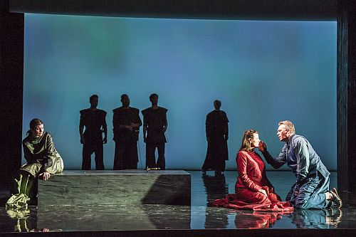 Picture credit: Longborough Festival Opera PS photo left to right ... Brangäne: Harriet Williams, Isolde: Lee Bisset and Tristan: Neal Cooper
