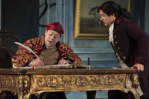 "Longborough Festival Opera. ""Don Pasquale"". Photo Patrick Baldwin"