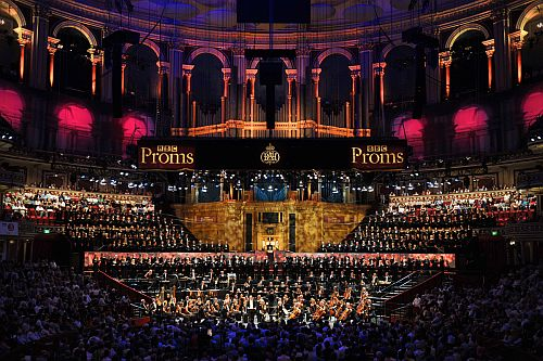 Sakari Oramo conducts the BBC Symphony Orchestra at the Royal Albert Hall on the First Night of the BBC Proms 2015 (Friday 17 July).