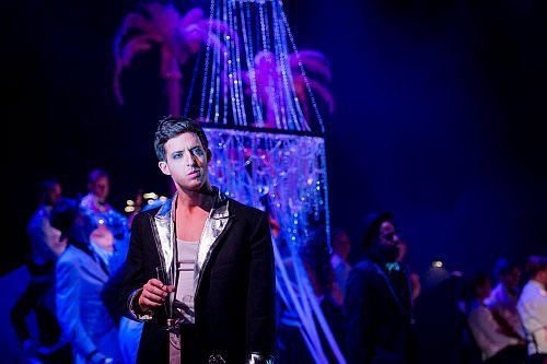 Xerxes - Handel - Longborough Festival Opera - 26th July 2015 Conductor - Jeremy Silver Director - Jenny Miller Designer - Faye Bradley Lighting Designer - Anna Sbokou Xerxes - Jake Arditti Photo: Longborough