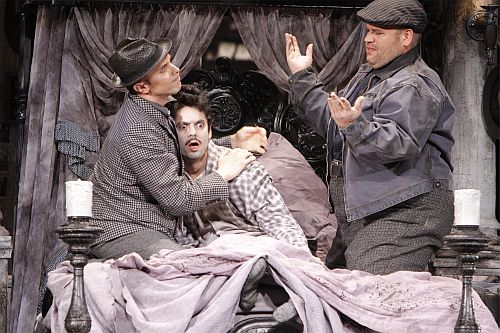 "A scene from LA Opera's 2008 production of ""Gianni Schicchi."" (Photo: Robert Millard / LA Opera)"