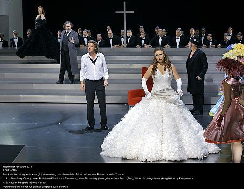 Photo credit Enrico Nawrath Lohengrin final scene of Act II