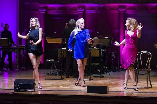 Sweet Charity at Cadogan Hall staring Denise Van Outen – Charity Michael Xavier – Charlie / Vittorio Vidal / Oscar Lindquist Kimberley Walsh – Nickie Kerry Ellis – Helene Michael Simkins – Herman Rodney Earl Clarke – Big Daddy Amy Perry – Ursula Royal Philharmonic Concert Orchestra ArtsEd – Ensemble Richard Balcombe– music director Paul Foste – stage director Matt Flint – choreographer