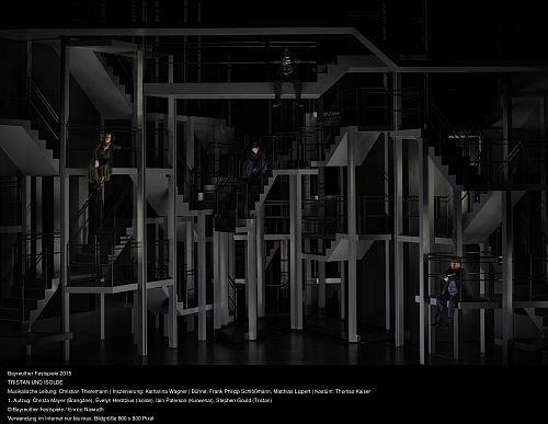 Photo c Enrico Nawrath - Tristan und Isolde Act I