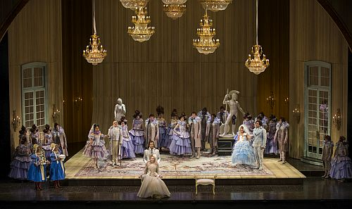 "Cast of ""The Marriage of Figaro"" (Photo courtesy Lyric Opera of Chicago)"