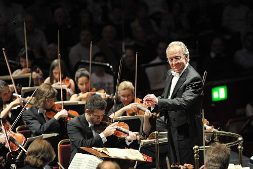 Prom 71 (Yuri Temirkanov conducting the St Petersburg Philharmonic Orchestra) Photo credit BBC/Chris Christodoulou
