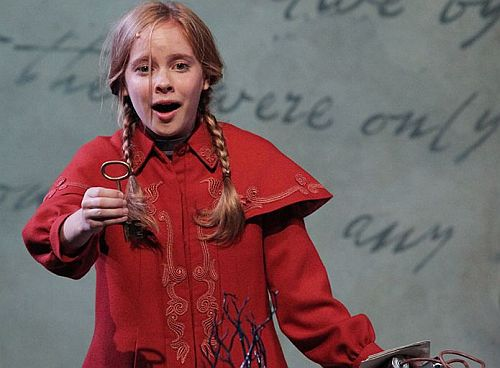 "Caitlin Cohn in ""The Secret Garden"" (Photo courtesy Cincinnati Playhouse in the Park)"