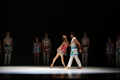 RNZB dancers in MTM The Anatomy of a Passing Cloud Photo  Evan Li