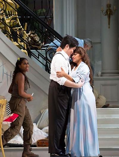 J'nai Bridges, Jeongcheol Cha, and Danielle de Niese in 'Bel Canto' at Chicago Lyric Opera (Photo: Todd Rosenberg)