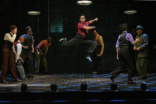 """BEVERLY HILLS, CA - Nov 29: The Wallis presents """"Guys and Dolls"""" at The Wallis Annenberg Center for the Performing Arts on November 29th, 2015 in Beverly Hills, California."""