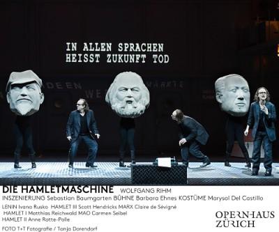Rihm: Die Hamletmaschine, Zurich (c) Tanja Dorendorf
