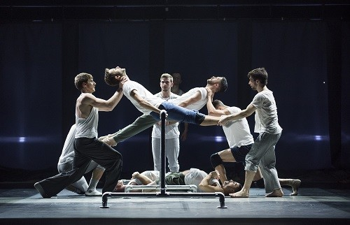 A scene from Rabbit and Fiction from Life by BalletBoyz ©Tristram Kenton