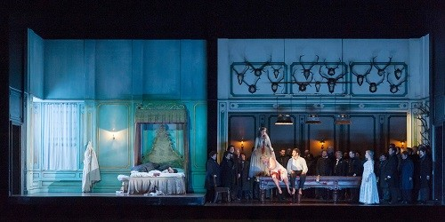 7 April—19 May 2016 Main Stage Diana Damrau and Aleksandra Kurzak lead two world-class casts in Katie Mitchell's new production of Donizetti's tragic opera. Music Gaetano Donizetti Libretto Salvadore Cammarano Director Katie Mitchell Designer Vicki Mortimer Lighting designer Jon Clark Associate director Joseph Alford Conductor Daniel Oron Cast: Lucia - Diana Damrau Enrico Ashton - Ludovic Tézier Edgardo - Charles Castronovo Arturo Bucklaw - Taylor Stayton Raimondo Bidebent - Kwangchul Youn Normanno - Peter Hoare Alisa - Rachael Lloyd Co-production with Greek National Opera