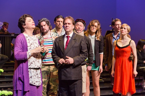 The Importance of Being Earnest 29 March—3 April 2016  Barbican Theatre Gerald Barry's operatic adaptation of Oscar Wilde's classic play is a comic masterpiece. Music Gerald Barry Libretto Gerald Barry Creative: Tim Murray Conductor Director Ramin Gray  Set Design Ben Clark (after an idea by Johannes Schutz) Composed by Costume designs Christina Cunningham Lighting Design Franz Peter David Movement Director Leon Baugh Cast: Simon Wilding as Lane/Merriman Benedict Nelson as Algernon Moncreiff Paul Curievici as John Worthing Stephanie Marshall as The Hon. Gwendolen Fairfax Alan Ewing as Lady Bracknell Hilary Summers as Miss Prism - as Cecily Cardew - as The Rev. Canon Chasuble, D.D