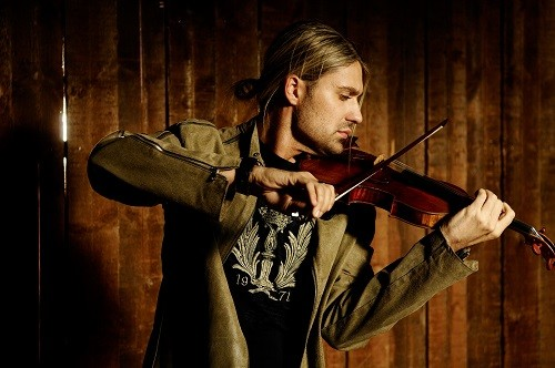 David Garrett; photo credit - Uli Weber.